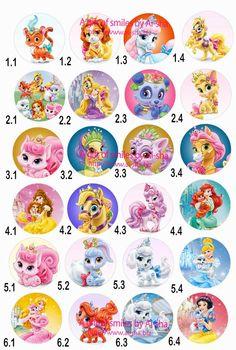 Printable Princess Bingo Card 3 FreePrintable