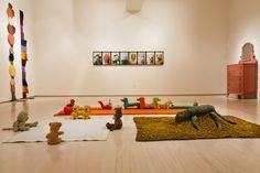 A Mike Kelley Retrospective Fills MoMA - Mike Kelley's stuffed animal installations. Paper Presentation, Soft Power, Long Island City, Creative Skills, Installation Art, Art Installations, Moma, Community Art, Ny Times