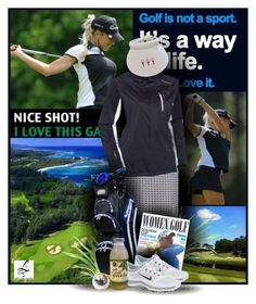 """""""Golf - A way of Life - Lori's Golf Shoppe"""" by christiana40 ❤ liked on Polyvore featuring NIKE and Lori's Shoes"""
