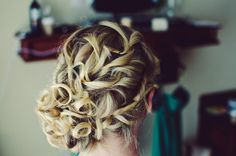 Curly Side Updo by Styling Trio Riviera Maya