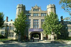 Bryn Mawr College - pembroke arch