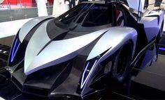 Devel Sixteen: More than 5.000 hp to 560 km/h