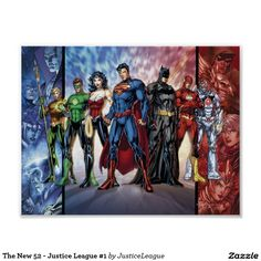 The New 52 - Justice League #1 Poster