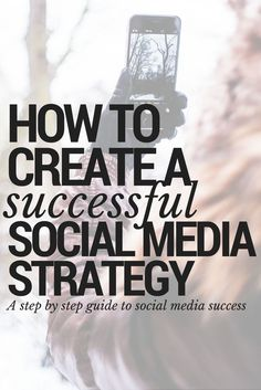 How to create a successful social media strategy. Step by step tutorial for creating a social media content marketing plan that works. Tips for social media success.