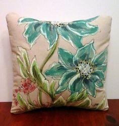 Decorative Pillow Cover Spring Patio Pillows by SippingIcedTea