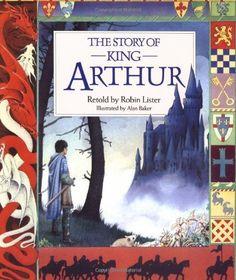 The Story of King Arthur (Kingfisher Classics) by Robin Lister, http://www.amazon.com/dp/0753451018/ref=cm_sw_r_pi_dp_5Beyqb04KC9RF