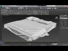 3ds Max Tutorial|Realistic Interiors with Marvelous Designer|Bedsheet,Pillow & Blanket|Part 1 - YouTube