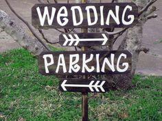 Outdoor Wedding Decor  Wooden Wedding Sign  Wedding by CardozaWood, $55.00