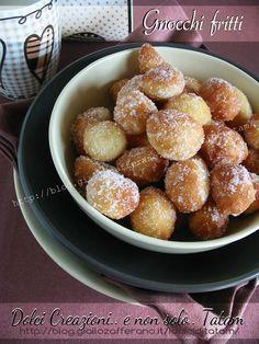 Gnocchi fritti dolci | ricetta dolci di carnevale