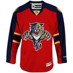 Florida Panthers Reebok Premier Youth Replica Home NHL Hockey Jersey Custom Hockey Jerseys, Nhl Hockey Jerseys, Panthers Gear, Florida Panthers, Aaron Ekblad, Reebok, Hockey Sweater, Ice Hockey Jersey, Vintage Jerseys