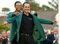 Supposedly the Masters Green is Pantone 342.
