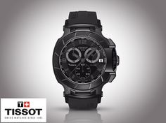 Tissot Watch of the Week!   The Tissot T-Race is a winner on and off the circuit. The bike-racing-inspired design and dynamic style gets this model into gear and gives it an equally strong starting position. With the Tissot T-Race,Tissot's passion for motor sports is accelerating into the fashion fast lane. 