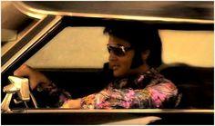 Elvis entering MGM Studios