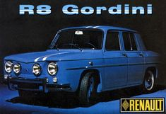 Renault 8 Gordini Road Rally, Retro Cars, Vintage Cars, First Car, Top Cars, Cars And Motorcycles, Automobile, Vans, Trucks