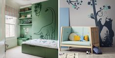 How to combine kids wall stickers and wallpaper ?  - - #walldecor #wallsticker #walldecals #kidsroom #wallpaper #mural #wallmurals