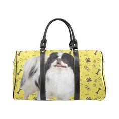 #TeeAmazing - #e-joyer Japanese Chin Dog New Waterproof Travel Bag/Small - AdoreWe.com