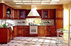 Kreativiti Dekorasi Ruang Dapur Idaman Relaks Minda Wood Kitchen Cabinets Painting