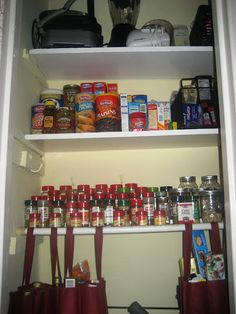 A Toast To Turning A Coat Closet Into A Pantry, November 14, 2010