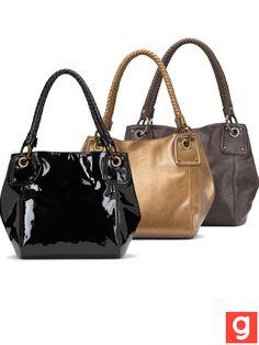purses in metallic :D happy!