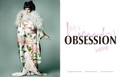 MIRANDA OBSESSION for Vogue Japan ミランダ・カーの華麗なる三変化。