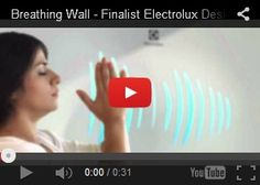 Futuristic Home, Breathing Wall - Finalist Electrolux Design Lab 2013, Future Technology