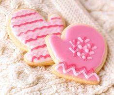 Cute Mitten cookies!