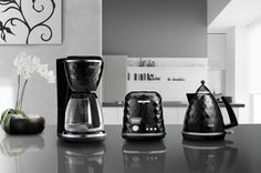 Breakfast Series Brillante by #DeLonghi - sleek and stylish #kitchen appliances.