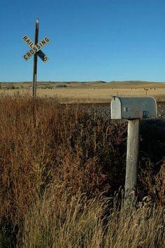 "Inspiration for my novel ""Promise"": rural mail box"