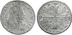 NumisBids: Nomisma Spa Auction 50, Lot 182 : PALERMO Ferdinando III (1759-1825) 6 Tarì 1794 – Spahr 41 AG (g...