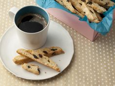 Dried Cherry and Almond Biscotti from FoodNetwork.com   *I have had these GF and they are yummy!*