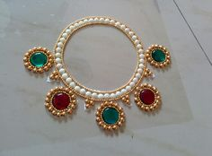 Inspired from jewellry design.This  can be used to keep diyas.
