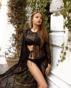 Totally in love with Dreamy Italian mood… ❤ Black lace [Balconette: Petticoat: Xenia Tchoumitcheva, Fall Collections, Beautiful Butterflies, Victoria Secret, Actresses, Elegant, Sexy, Clothes, Beauty