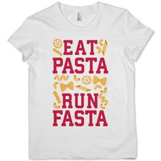 Eat Pasta Run Fasta | Activate Apparel | Workout Gear & Accessories