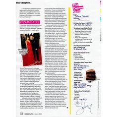 Selena Gomez Cosmopolitan US 4 ❤ liked on Polyvore featuring text, articles, magazine, words, fillers, phrase, quotes and saying