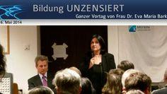 www.kla.tv/3088 ~ Vortag von Frau Dr. Eva Maria Barki in Wien, Weichenstellung in Europa, Euro-Atlantisches Diktat oder selbstbestimmte Völker in einer freien…