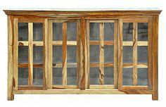 One Kings Lane - The Summer Kitchen - Sierra 4-Door Cabinet