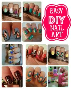 EASY DIY NAIL ART