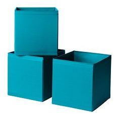 SKUBB Box - turquoise - IKEA