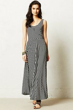 Seeing Stripes. Perfect dress for a sunny day while fleaing or vintage picking!  Tamsin Maxi Dress | anthropologie.com