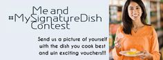 Just send in a picture of yourself with the dish you cook best (do mention the name of the dish as well!) and we will showcase it on the Mag...