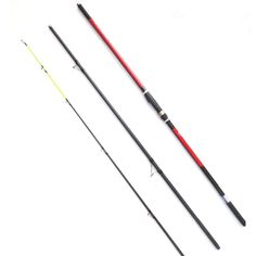 Free Shipping High Quality 3 Section 4.2m 100g-200g Surf Rod High Carbon Fishing Rod Surf Casting