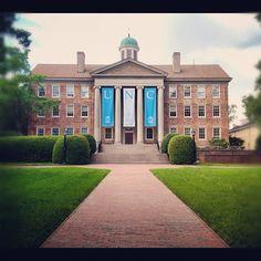 The University of North Carolina at Chapel Hill. <3