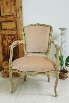 アンティーク ルイ15世様式アームチェア French antique sofa