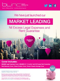 Check out our new mailer for Blinc Tenant Referencing! Being A Landlord, Digital Marketing, Management, Product Launch, Social Media, Templates, Writing, Check, Stencils
