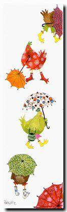 """Pascaline Mitaranga """"Les parapluies"""""""