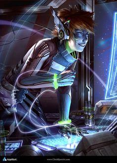 Kết quả hình ảnh cho cyberpunk deviantart