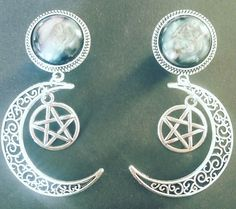 Moon Light Pentagramm Plugs
