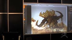 ZBrush Presentation from Blizzard Entertainment at SIGGRAPH 2013  Part 3