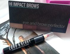 HI IMPACT BROWS - multitasking palettefor perfect brows. It can be used for contouring your face too.3 colors allows you to mix in order to match your natural color. LORD & BERRY Matte Lipstick Pencil - long lasting coverage with natural shine-free finish. LookFantastic Beauty Box - February #LFLOVES  valvybes.com