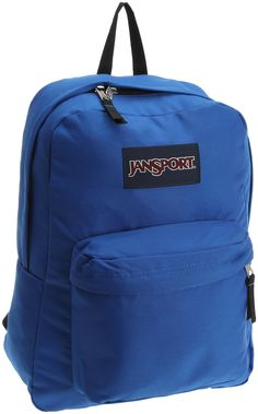 JanSport Superbreak School Backpack (Blue Streak)